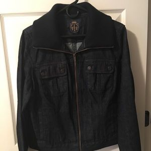 Talbots Dark blue denim Jacket size 18
